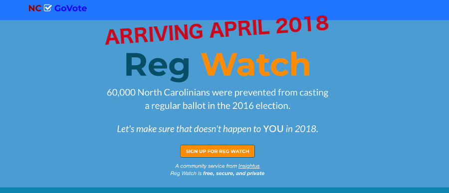 Reg Watch - A Free Service From Insightus, Coming Soon